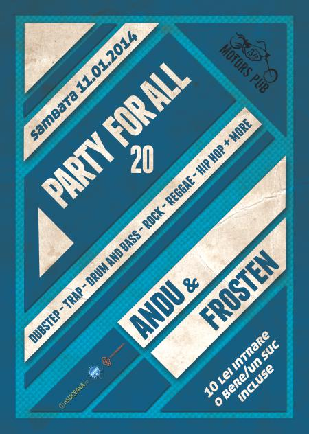 FOTOGRAFII: Party for all 20 @ 31 Motors Pub