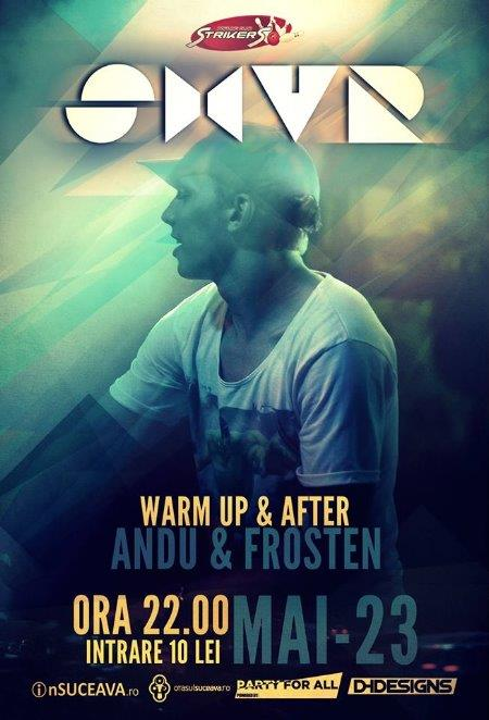 DJ SHVR (after-party cu Andu & Frosten) @ Strikers Club Suceava